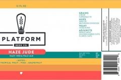 Platform Beer Co. - Haze Jude