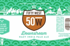 Fifty West Brewing Company - Downstream Hazy India Pale Ale