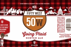 Fifty West Brewing Company - Going Plaid Scotch Ale
