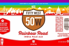 Fifty West Brewing Company - Rainbow Road India Pale Ale