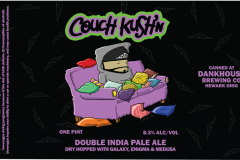 Dankhouse Brewing Co - Couch Kush'n