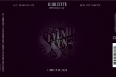 Seventh Son Brewing Co - Oubliette