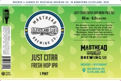 Masthead Brewing Co. - Just Citra