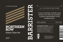 Northern Row - Barrister