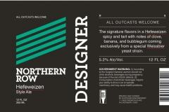 Northern Row - Designer