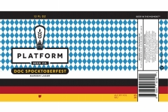 Platform Beer Co. - Doc Spocktoberfest