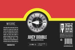 West Side Brewing - Juicy Double