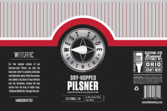 West Side Brewing - Dry-hopped Pilsner