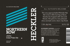 Northern Row - Heckler