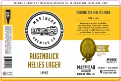 Masthead Brewing Co. - Augenblick Helles Lager