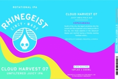 Cloud Harvest 07 - Unfiltered Juicy Ipa