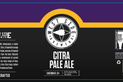 West Side Brewing - Citra Pale Ale