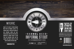 West Side Brewing - Barrel Aged Imperial Stout