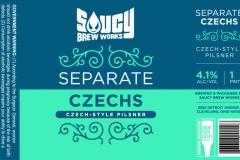 Saucy Brew Works - Separate Czechs