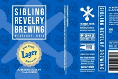 Sibling Revelry Brewing - American Lager