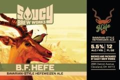 Saucy Brew Works - B.f. Hefe