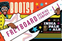 Fretboard Brewing Company - Bootsy Brewski Ipa