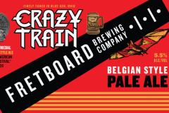 Fretboard Brewing Company - Crazy Train Pale Ale