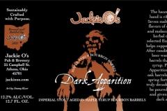 Jackie O's - Maple Syrup Bourbon Barrel Dark Apparition