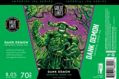 Great Lakes Brewing Co - Dank Demon Imperial Dank Ipa