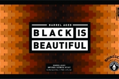 Barrel Aged Black Is Beautiful -