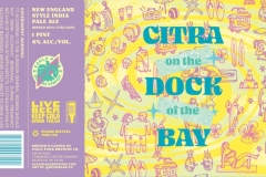 Eagle Park Brewing Company - Citra On The Dock Of The Bay
