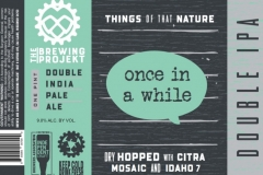 The Brewing Projekt - Things Of That Nature Once In A While