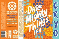 The Brewing Projekt - Dare Mighty Things