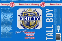 Pearl Street Brewery - Shitty Lyte Beer
