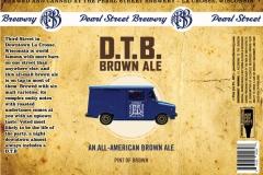 Pearl Street Brewery - D.T.B. Brown Ale