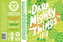 The Brewing Projekt - Dare Mighty Things Azacca