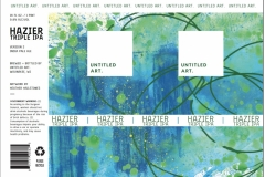 Untitled Art - Hazier Triple IPA