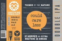 The Brewing Projekt - Things Of That Nature Could Care Less