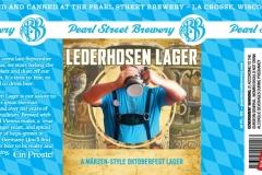Pearl Street Brewery - Lederhosen Lager