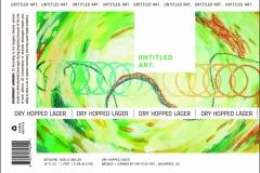Untitled Art - Dry Hopped Lager