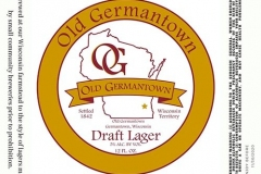 Old Germantown - Old Germantown Draft Lager