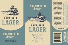 Brickfield Brewing - Lake Skip
