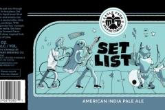 Eagle Park Brewing Company - Set List