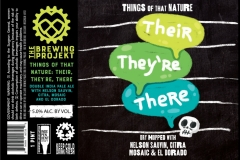 The Brewing Projekt - Things Of That Nature: Their, They're, There