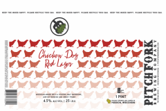 Pitchfork Brewing Company - Chicken Dog Red Lager