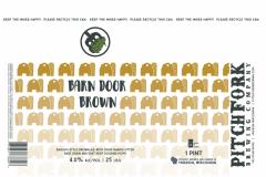 Pitchfork Brewing Company - Barn Door Brown