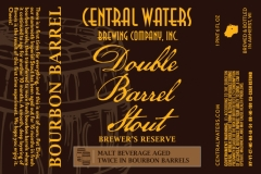 Central Waters Brewing Company, Inc. - Double Barrel Stout