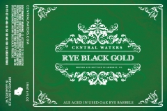 Central Waters - Rye Black Gold