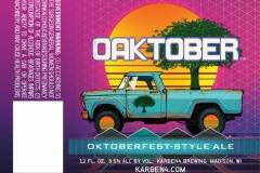 Karben4 Brewing - Oaktober