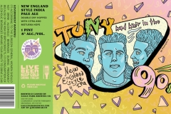 Eagle Park Brewing Company - Tony Had Hair In The 90s
