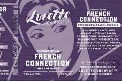 Lucette Brewing Company - French Connection
