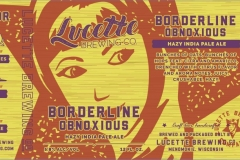 Lucette Brewing Company - Borderline Obnoxious