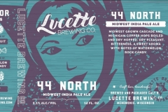 Lucette Brewing Company - 44 North