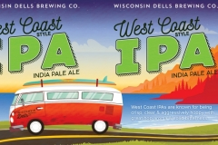 Wisconsin Dells Brewing Co. - West Coast Style IPA