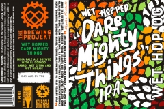 The Brewing Projekt - Wet Hopped Dare Mighty Things
